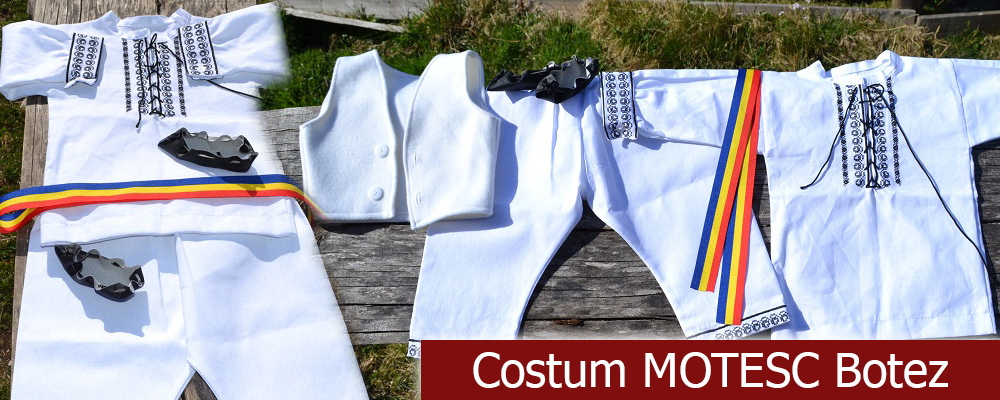 Costum Motesc Botez